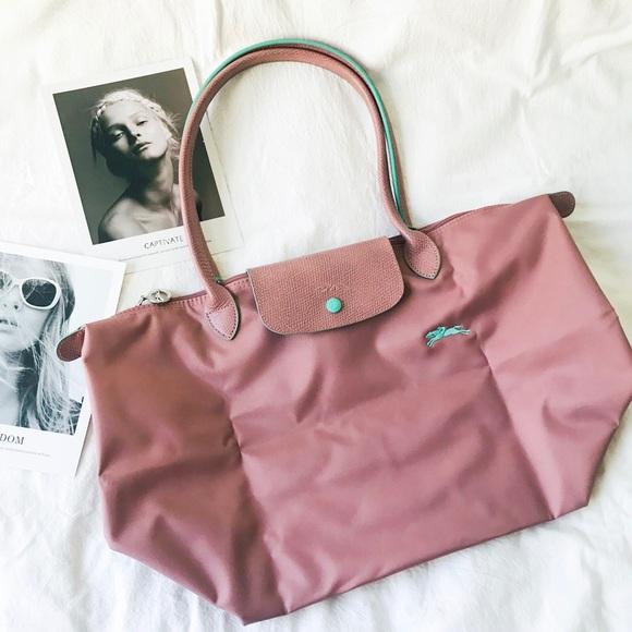 ❗️LAST ONE❗️Longchamp Le Pliage Club Tote Pink
